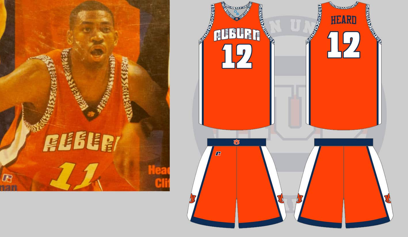 wholesale dealer f5c4e aeafb The Dark Ages of Auburn Basketball Uniforms - Auburn Uniform ...