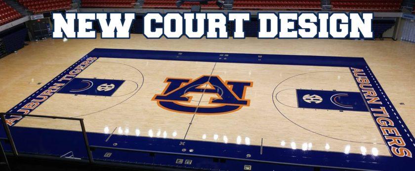 New Auburn Arena Court Design Auburn Uniform Database