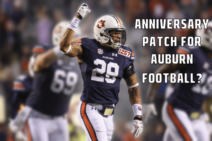 Auburn Football Quasquicentennial  - Auburn Uniform Database 7953af303