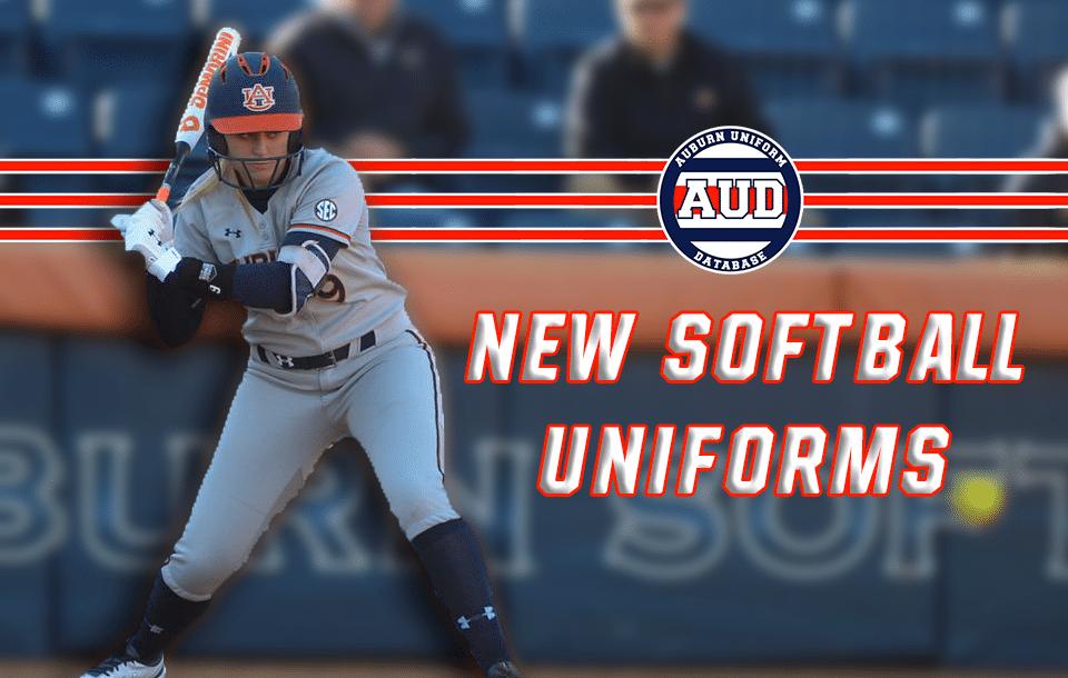 new product 00ce1 009a7 Softball Debuts New Uniforms - Auburn Uniform Database
