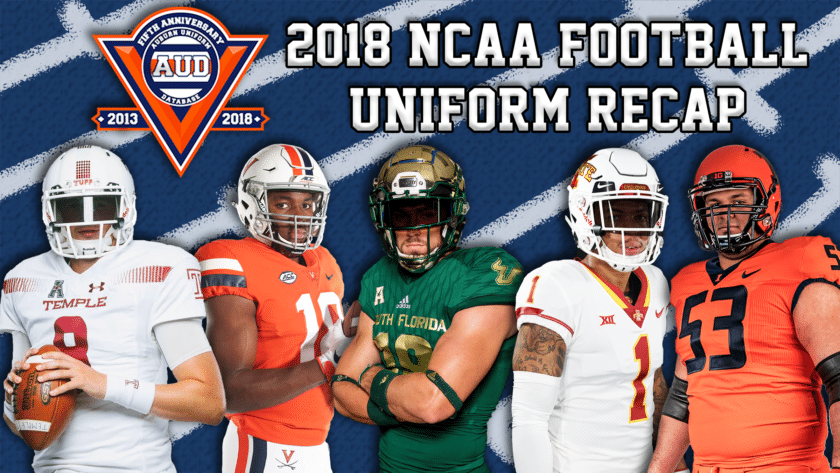 buy online ef2e0 02908 2018 NCAA Football Uniforms Recap - Auburn Uniform Database