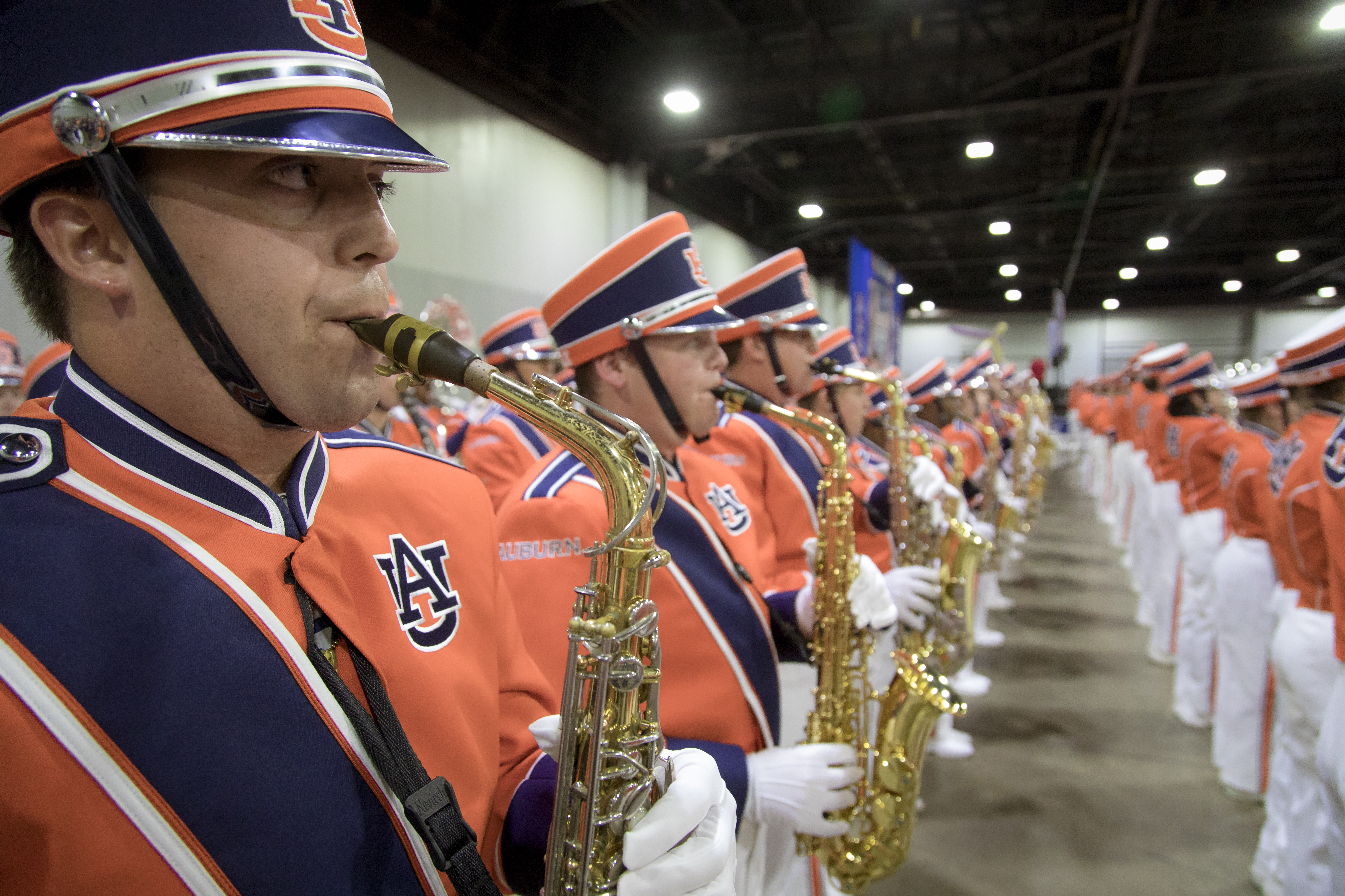 New Auburn Marching Band Uniforms - Auburn Uniform Database