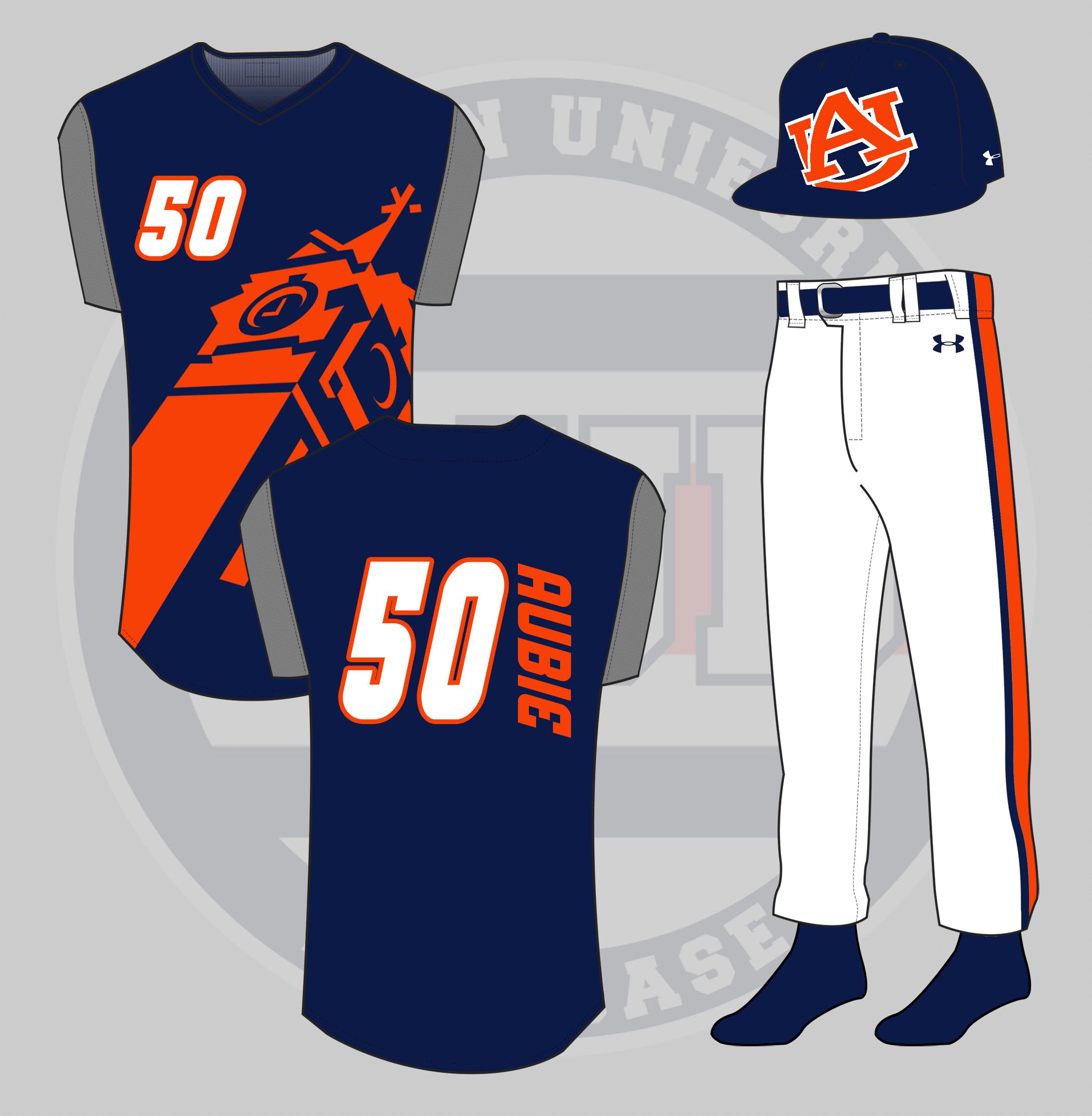 buy popular 80a6f 1ab78 Crazy Auburn Concept Uniforms - Round 5 - Auburn Uniform ...