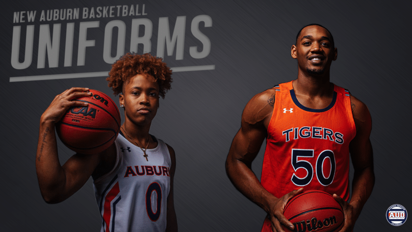 New Auburn Basketball Uniforms For 2019 Auburn Uniform